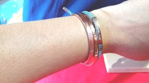 The Mindful Company - Bands and Braid on my wrist - Esther Neela