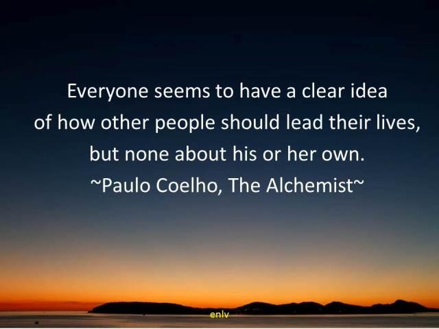 The Alchemist Quote by Paulo Coelho - Esther Neela Blog