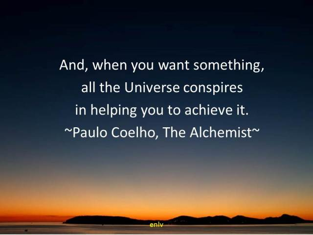 The Alchemist Quote by Paulo Coelho - Esther Neela Blog