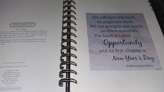First Page of 2017 Journal Writing - Esther Neela Blog
