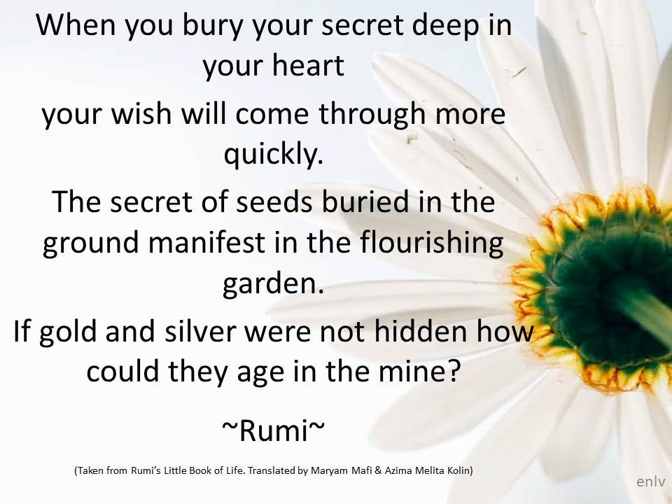 Rumi Quotes Blog By Esther Neela M