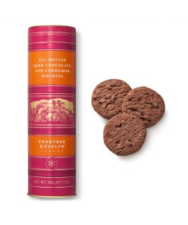 Crabtree and Evelyn All Butter Dark Chocolate and Cardamom Biscuits - Esther Neela Blog