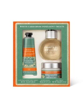 Crabtree and Evelyn White Cardamom Indulgent Treats - Esther Neela Blog